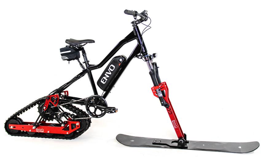Passe ton e-bike en motoneige